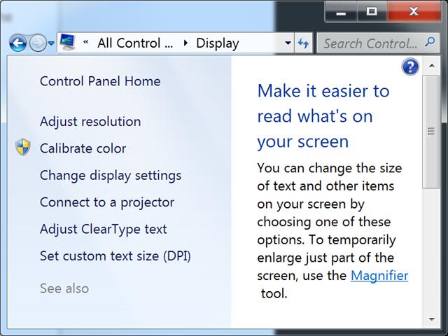 "Windows 7 on Macbook Pro 15"" with Retina Display DPI"
