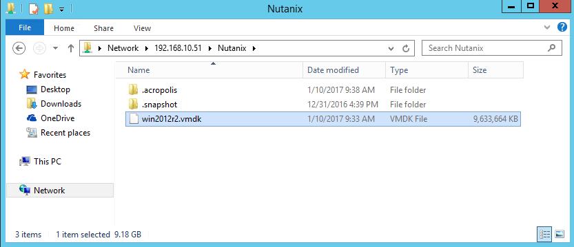Export a VM from AHV raw format to VMware VMDK | Josh Sinclair