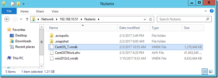 Export a VM from Nutanix AHV to VMware ESXi   Josh Sinclair