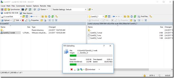 Export a VM from Nutanix AHV to VMware ESXi – Acropolis