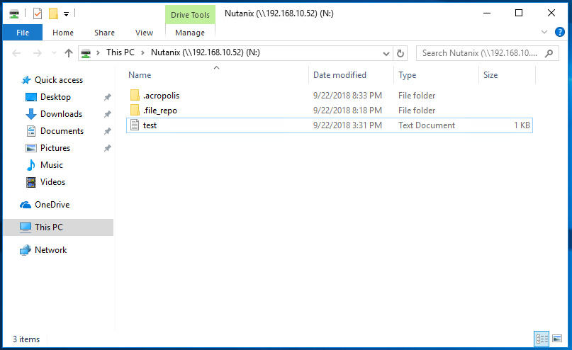Mount Nutanix Container using NFS on Windows 10 | Josh Sinclair